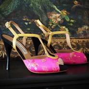 Butterfly/Peep Toe - Open Heel