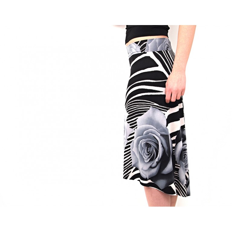 Lisadore Dance Couture - Zebra Rose