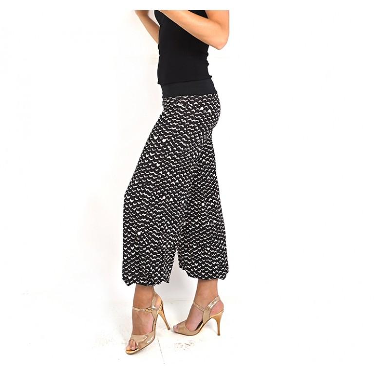 Lisadore Dance Couture - Pantalon Beige Y Negro