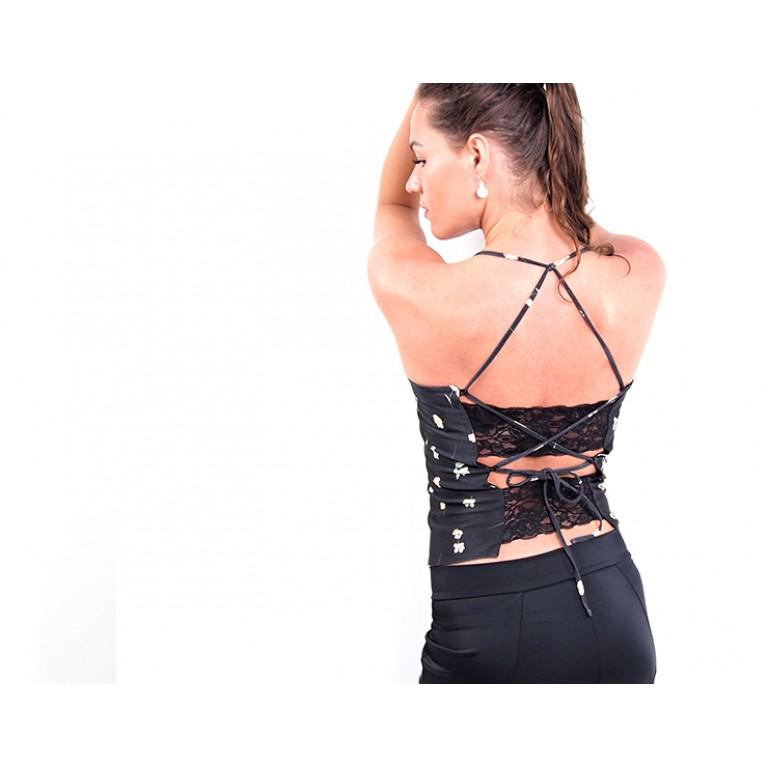 Lisadore Dance Couture - Lace Top Little Flower
