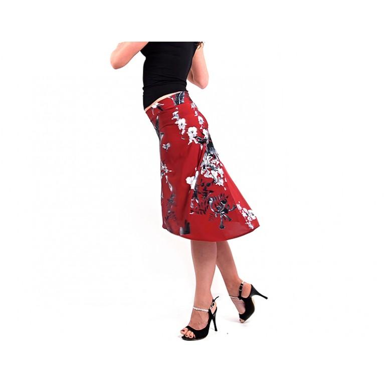 Lisadore Dance Couture - Royo Escuro y Gris de la Flor