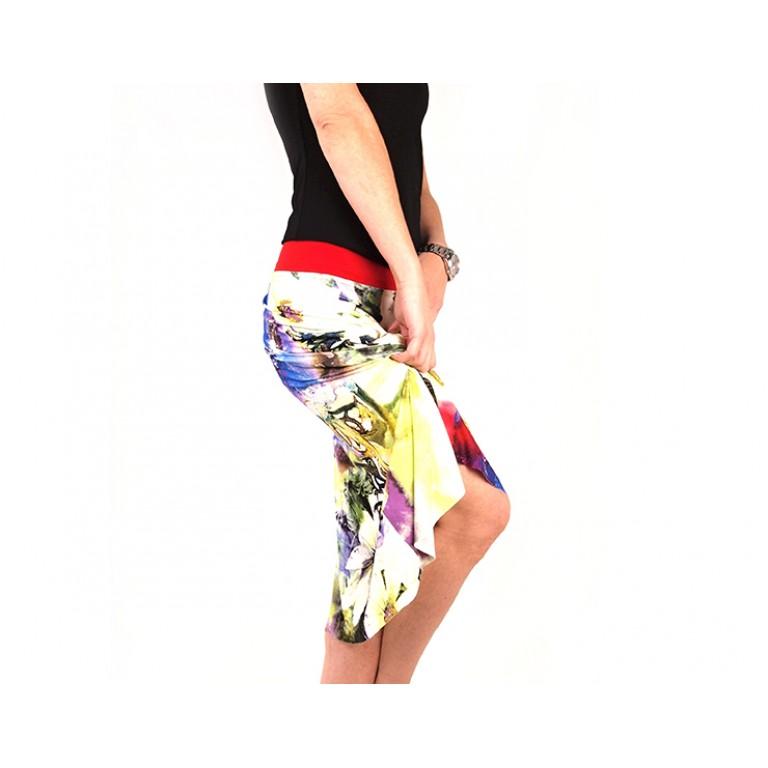 Lisadore Dance Couture - Flor de la Margarita Blanco Y Violeta