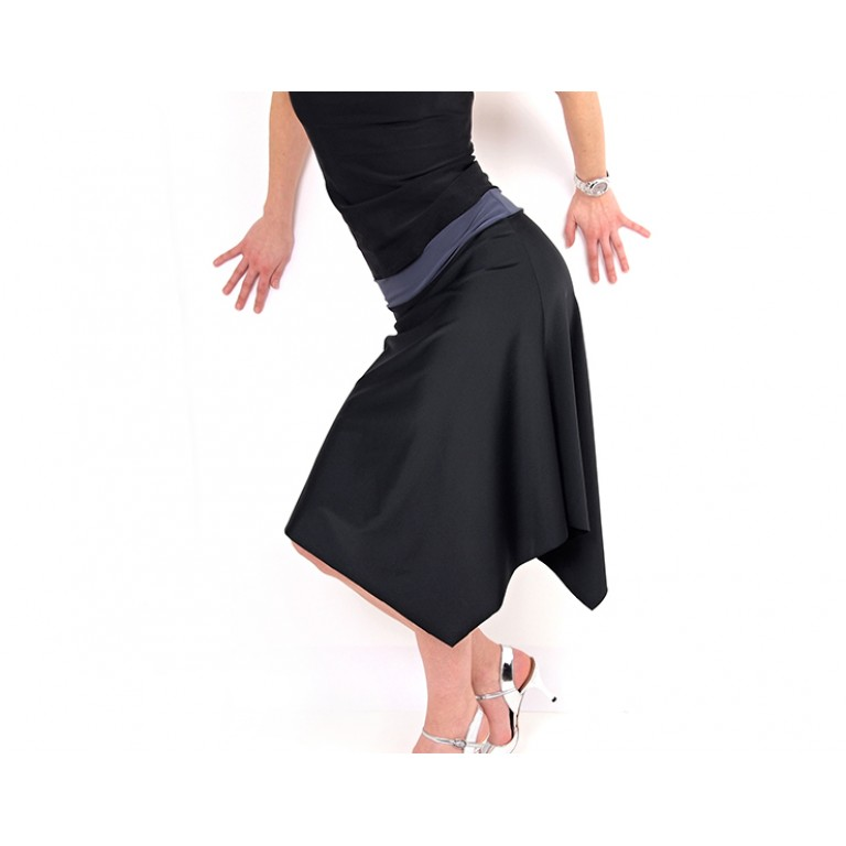 Lisadore Dance Couture - Negro Gris