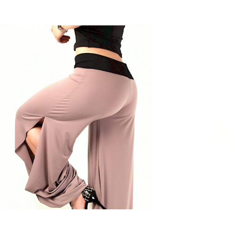 Lisadore Dance Couture - Beige y Negro -  Trousers