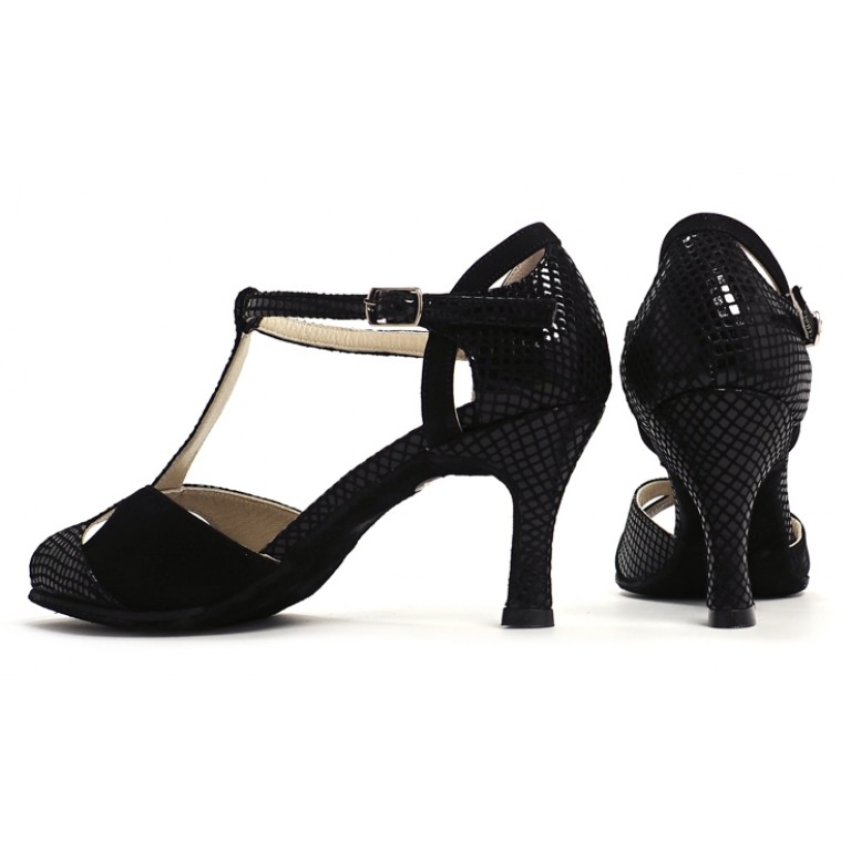 Lisadore - Reptil Negra - Suede Sole - Abasso