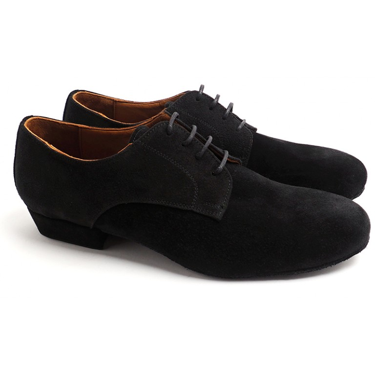 Lisadore Men Shoes - Gamuza Negra Cromo