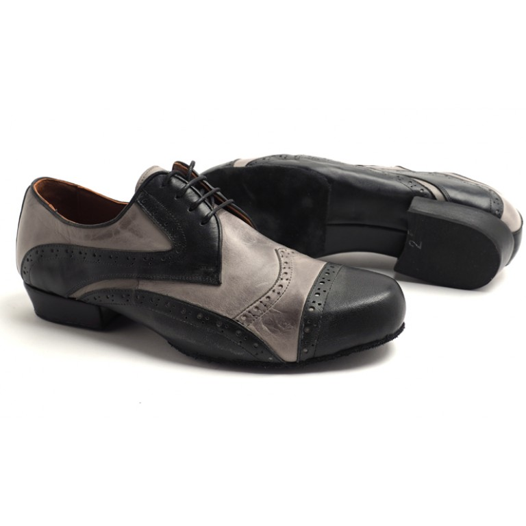 Lisadore Men Shoes - Negro Y Gris Flex
