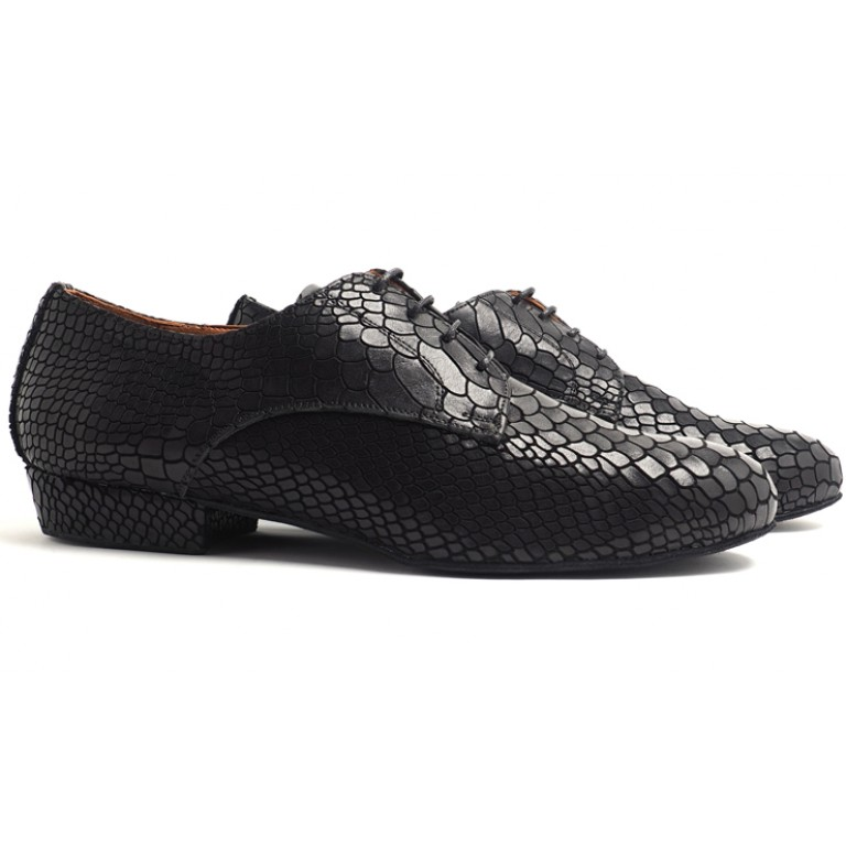 Lisadore Men Shoes - Reptil Negra Cromo