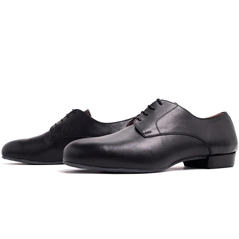 Lisadore Men Shoes - Cuero Negra Cromo