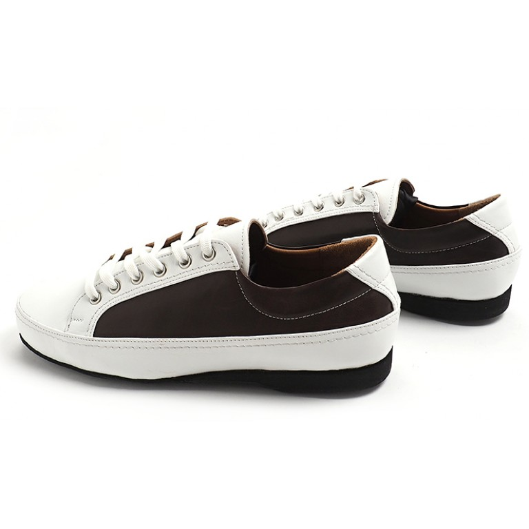 Lisadore Men Shoes - Sneaker Deep Brown White