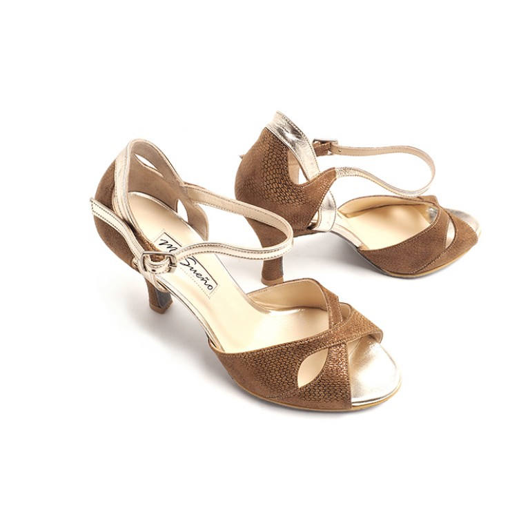 SALES - Gamuza Bronce Reptil Butterfly