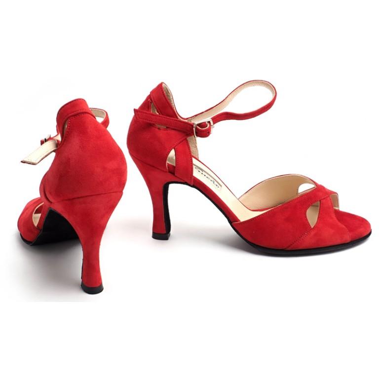 SALES - Gamuza Rojo Butterfly