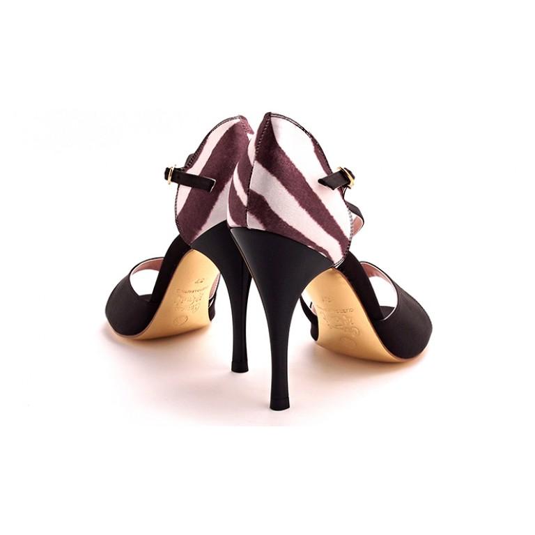 Comme il Faut Shoes - Cebra y Negro